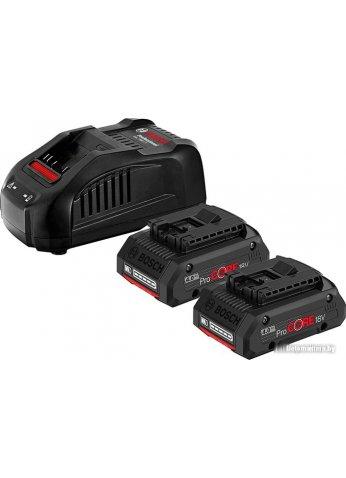 Аккумулятор с зарядным устройством Bosch 2xProCORE 1600A016GF (2x18В 4Ач + 18В)