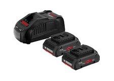 Аккумулятор с зарядным устройством Bosch 2xProCORE 1600A016GF (2АКБ 18В 4Ач ЗУ 18В)