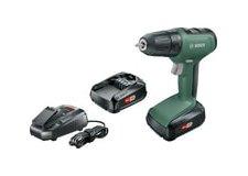 Дрель-шуруповерт Bosch UniversalDrill 18 06039C8002 (с 2-мя АКБ)
