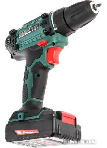 Дрель-шуруповерт Hammer ACD180Li (с 2-мя АКБ, кейс)