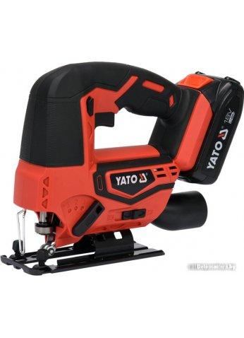 Электролобзик Yato YT-82822 (с АКБ)