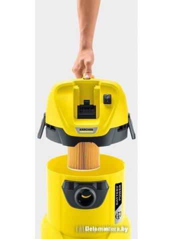 Пылесос Karcher WD 3 Battery Set 1.629-911.0