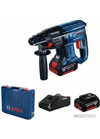 Перфоратор Bosch GBH 180-LI Professional 0611911121 (с 2-мя АКБ, кейс)