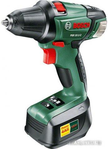 Дрель-шуруповерт Bosch PSR 18 LI-2 (0603973323)