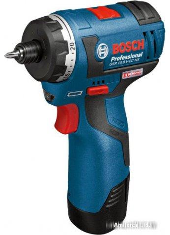 Шуруповерт Bosch GSR 12V-20 HX Professional (06019D4100)