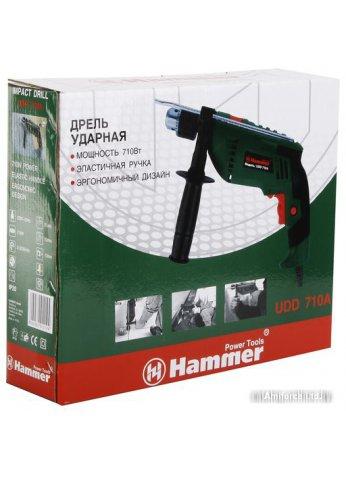 Ударная дрель Hammer UDD710A