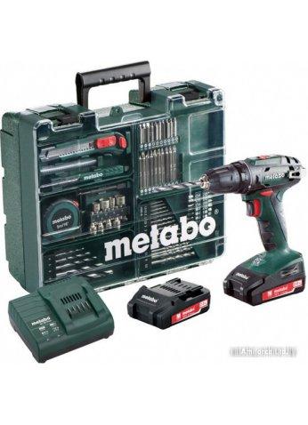 Дрель-шуруповерт Metabo BS 18 Set [602207880]