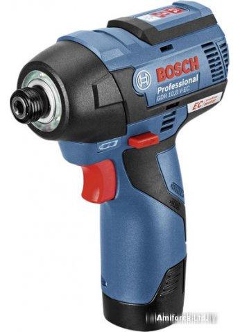 Ударный гайковерт Bosch GDR 12V-105 Professional [06019E0000] (2 АКБ 2,5Ач)