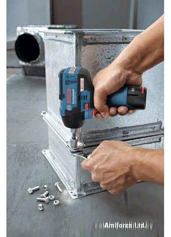 Ударный гайковерт Bosch GDS 12V-115 Professional [06019E0100] (2 АКБ 2,5Ач)