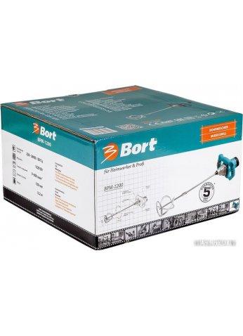 Строительный миксер Bort BPM-1200 [98296891]