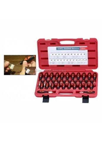 Набор приспособлений для обслуживания контактных колодок автомобиля 23пр. AutoMaster