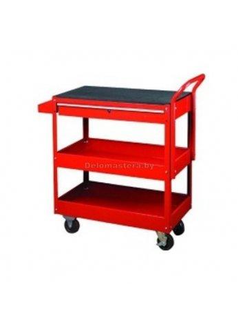 Тележка инструментальная, 2 полки, ящик BIG RED (br-TC301-2)