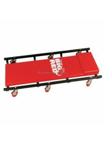 Лежак на 6-ти колесах BIG RED (br-TR6451)