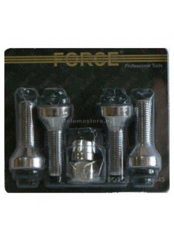 Набор болтов на колесные диски М12х1.5RH (21ммL) 5пр. FORCE (force-645105)