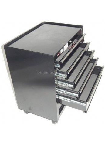 Тележка инструментальная, 6 выдвижных полок Forsage (frs-TBR3106-X)