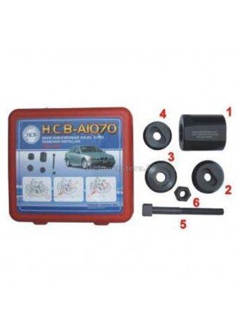 Набор для замены сайлентблоков задней подвески BMW(E38/E39/E52/E53/E60/E61/E63/E64/E65/E66/E67/E70 HCB (hcb-A1070)