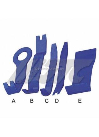 5пр. Набор для снятия обивки дверей JTC (JTC-3322(код 3107))