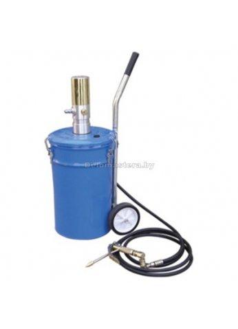 Емкость с пневмонасосом для нагнетания смазки 20л PARTNER (prt-PA-1003)