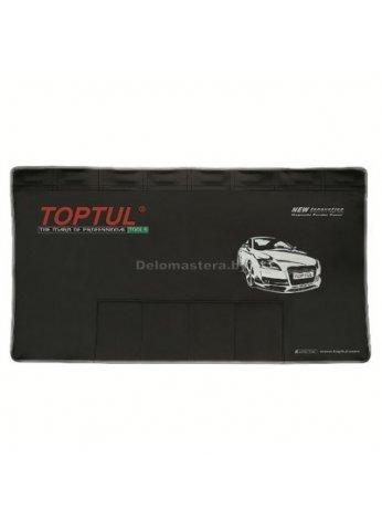 Магнитный защитный коврик с карманами для инструмента TOPTUL (JJAQ1106)