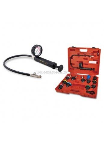 Набор для проверки герметичности системы охлаждения 18пр. TOPTUL (JGAI1802)