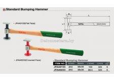 Молоток для кузовных работ TOPTUL (JFAA0233) (рифленая поверхность)