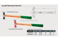 Молоток для кузовных работ TOPTUL (JFAA0433) (рифленая поверхность)