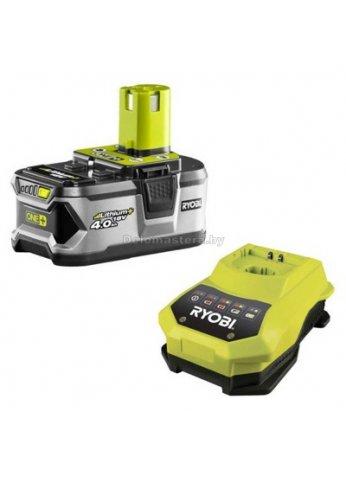 ONE+ / Li-Ion Аккумулятор RYOBI RBC 18 L 40 - 4.0 А/ч + Зарядное (5133001912)