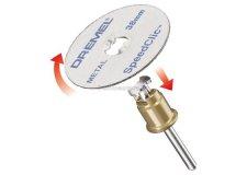 Отрезные круги по металлу Dremel EZ SpeedClic (SC456 B) (2615S456JD) 38,0 мм 12 шт