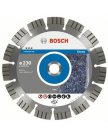 Алмазный отрезной круг Best for Stone Bosch 230х22мм сегмент для бетона и камня 1шт 2608602645