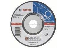 Обдирочный круг, изогнутый, по металлу Bosch Professional 125х6х22мм д/мет 2608600223