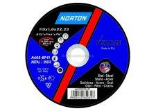 Обдирной круг 115х6,4х22,2мм д/мет NOR-Vulcan (NORTON) (66252830803)