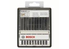 Набор пилок для лобзика 10шт ROBUST LINE Bosch (2607010540) Швейцария