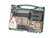 Устройство для подготовки соединений с помощью деревянных шипов D 6,8,10мм в наборе (чемодан) Wolfcraft (wlf-4645000)