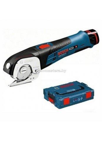 Ножницы аккумуляторные Bosch GUS 12V-300 Professional (0.601.9B2.904) (два аккум-ра 2,0Ач, заряд.устр., кейс L-Boxx) (06019B2904)